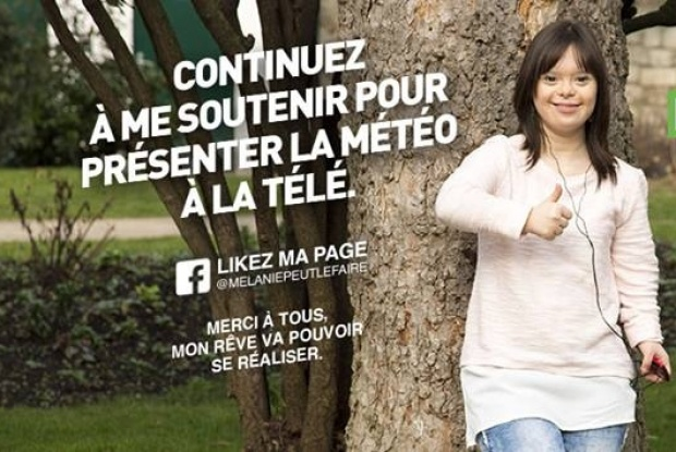 Downs syndrome girl facebook talk. Rather